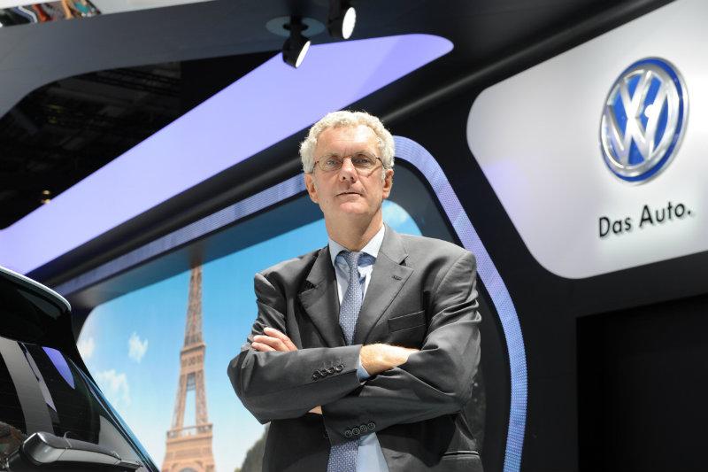 Jacques Rivoal, PDG de Volkswagen France, photo Bernard Asset, www.largus.fr